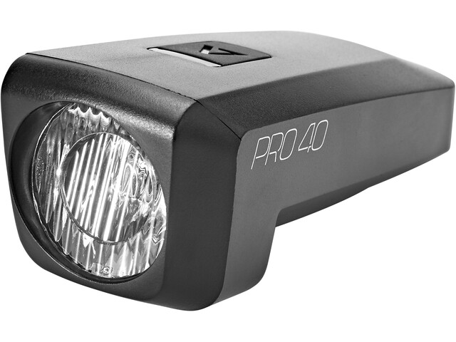 Cube ACID Pro 40 Cykellygter, sort